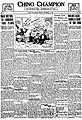 November 11, 1917, front page of Chino Champion (California).jpg