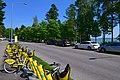 Nuottaniementie Matinkylä citybikes 170718.jpg