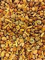 Nut and-fruit mixes DEN LILLE NOTTEFABRIKKEN Norway Orientalsk mix blanding av maisbaserte snacks og innbakte peanotter 2017.jpg