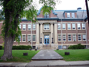 Saskatoon Teachers' College - Collegiate Institute, first home of the teacher's college.