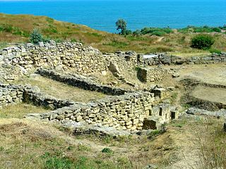Ancient Greek colony in the Crimea