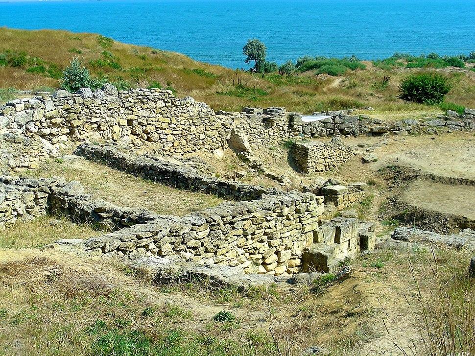 Nymphaion.Crimea.Excavations