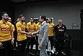 O Governador do Estado de São Paulo, João Doria, com o time Tricampeão Mundial de Futsal de Sorocaba. Local São Paulo-SP. Data 04 102019 Foto Governo do Estado de São Paulo (49015732737).jpg