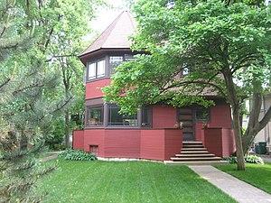 Robert P. Parker House - Image: Oak Park Il Parker House 1
