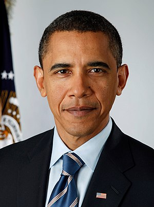 Democratic Party presidential primaries, 2012 - Image: Obama portrait crop