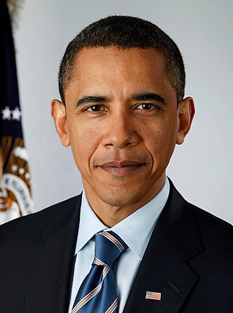 2008 United States presidential election in California - Image: Obama portrait crop