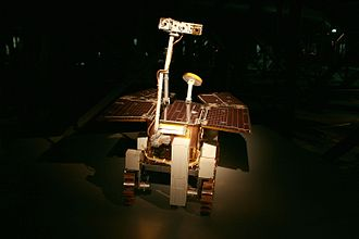 ExoMars - An ExoMars rover as an exhibit at Gasometer Oberhausen, Germany