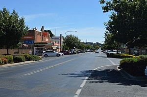 Oberon, New South Wales - Oberon Street, the main street of Oberon