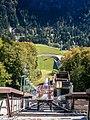 Oberstdorf, Heini-Klopfer-Skiflugschanze, oben 2009-09.jpg