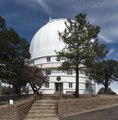 Observatory housing the Otto Struve Telescope at McDonald Observatory, an astronomical observatory located near the unincorporated community of Fort Davis in Jeff Davis County, Texas LCCN2014631173.tif