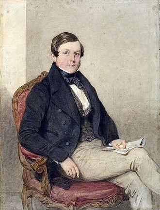 Thomas Baker (artist) - Thomas Baker (1841) by Octavius Oakley