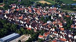 Oettingen, Luftaufnahme (2016)