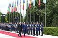 Official welcoming ceremony held for Moldovan president Igor Dodon 9.jpg