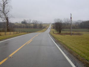 Ross County, Ohio - Countryside northeast of Chillicothe on State Route 180
