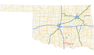 Oklahoma State Highway 199 highway in Oklahoma