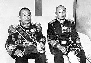 February 26 Incident - Okada Keisuke (left) and Denzō Matsuo (right)