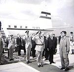 Olav V of Norway visiting Skopje.jpg