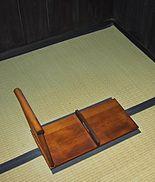 明治時代の和式大便器(禅寺)