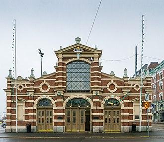 Gustaf Nyström - Image: Old Market Hall 7101