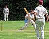 Old Finchleians Cricket Club v Highgate Taverners Cricket Club at Finchley, London, England 08.jpg