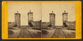 Old Spanish wall and gateway, St. Augustine, Fla., looking out, from Robert N. Dennis collection of stereoscopic views.png