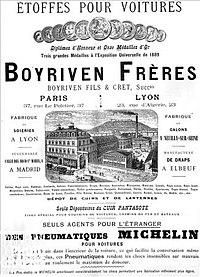 Affiche Boyriven de 1889