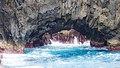 Old lava meets ocean (Porto Moniz) (26319133879).jpg
