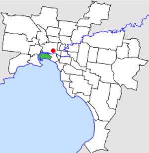 City of Port Melbourne - Image: Old lga Port Melb