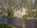 Oldruitenborgh, ruïne van Kasteel Toutenburg, Vollenhove.JPG