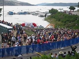 Wildflower Triathlon May triathlon in California