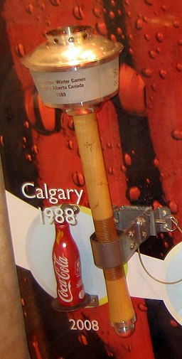 Olympic Torch Calgary 1988