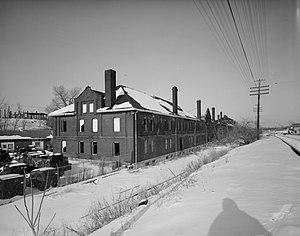 Omaha Quartermaster Depot Historic District - Exterior of the depot