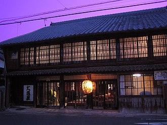 Akasaka-juku (Tōkaidō) - Image: Oohasiya Inn