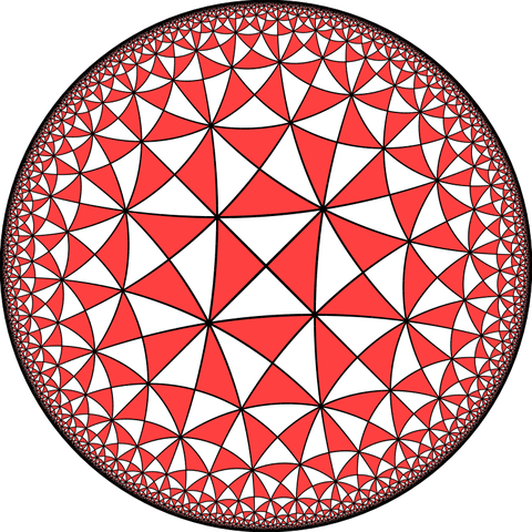 triangoli nella geometria iperbolica