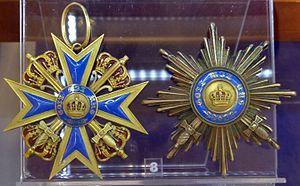 Order of Merit of the Prussian Crown - Image: Order of Merit of the Prussian Crown grand cross with swords (Prussia 1906 1917) Tallinn Museum of Orders