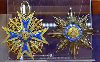 Order of Merit of the Prussian Crown award