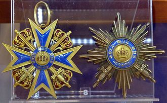 Order of Merit of the Prussian Crown - Cross and star of the order