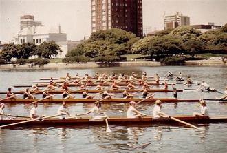 University of Oregon rowing team - University of Oregon Women's Crew 1973
