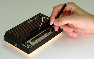 Stylophone - Mid-1970s Stylophone being played