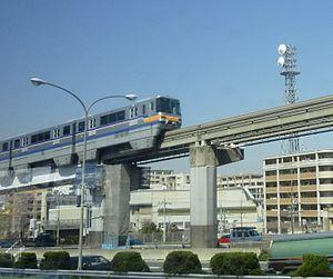 Osaka Monorail 2000 series - 2000 series train