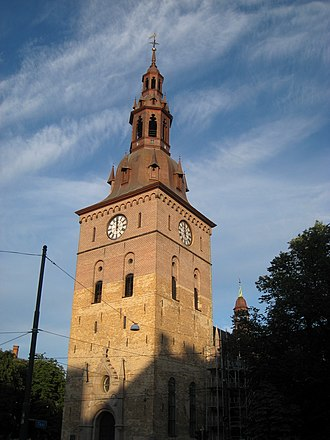 Oslo Cathedral - The tower