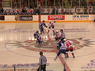 Sudbury Wolves - Sudbury Wolves against the Ottawa 67's in Ottawa