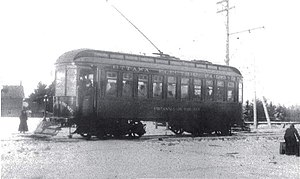 Ottawa Electric Railway Car Britannia on the Bay 1900.JPG