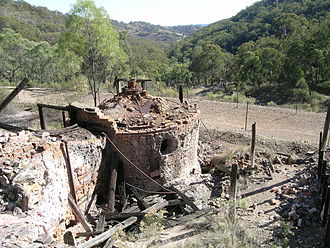 Emmaville, New South Wales - Ottery arsenic mine, near Emmaville.