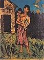 Otto Mueller - Stehende Zigeunerin mit Kind auf dem Arm - 1926-27.jpeg