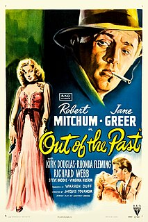 <i>Out of the Past</i> 1947 film directed by Jacques Tourneur