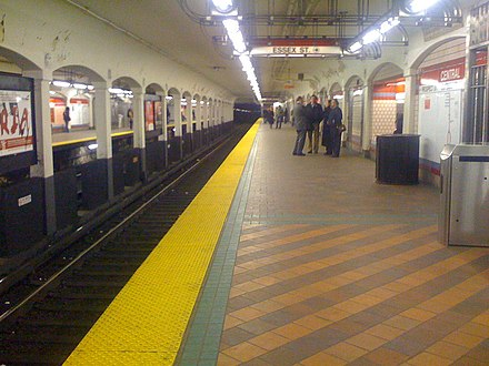 Central Station on the MBTA Red Line