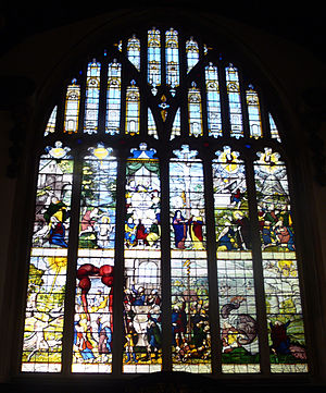 Lincoln College, Oxford - East window of the chapel