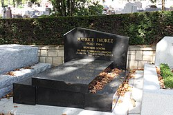 Grave of Maurice Thorez and Jeannette Vermeersch