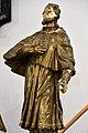 Pér, római katolikus templom, Nepomuki Szent János-szobor 2021 07.jpg